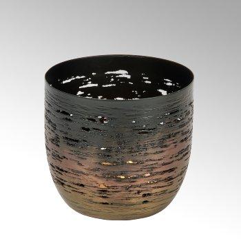 Osako tealight holder, iron, bronce-anthracite