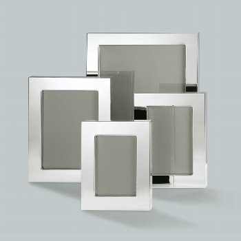 Savannah picture frame for 10x15 cm, silverplated