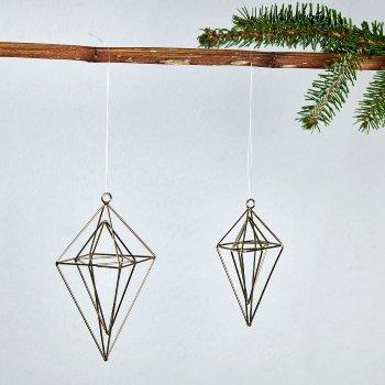 Cristal deco hanger iron