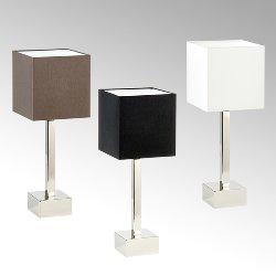 Manhattan table lamp w/shade colour creme