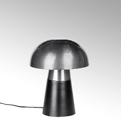 Brooklyn table lamp small stainless steel