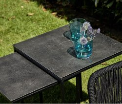 Lago side table set outdoor compatible