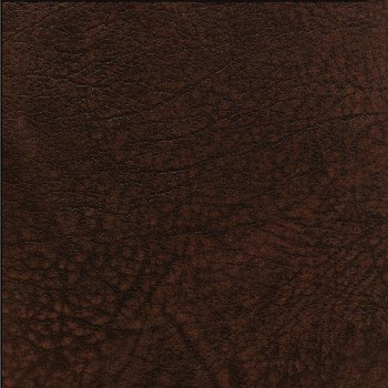 Bezug Leder dunkelbraun