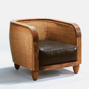 Lobby armchair + white cushions seat + 55x55 cm
