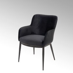 Felix armchair with piping
