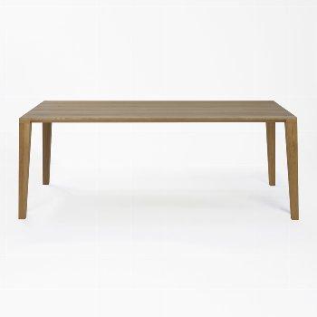 ARACOL table oak solid oiled
