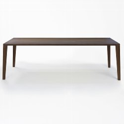 ARACOL table walnut solid oiled