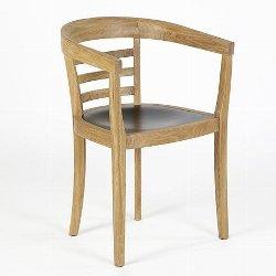 Julius chair oak white 53x53x78 cm