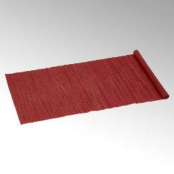 Narita tablerunner 50x150 cm red