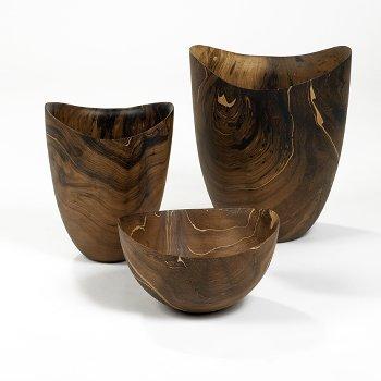 Xaver vessel mango wood, smoked