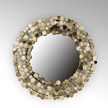 Midas mirror iron/metal foil