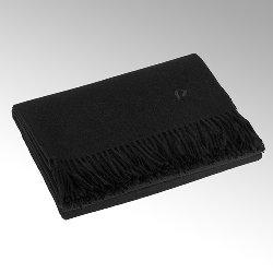 Paco plaid, black 100% baby-alpaka, 130 x 200 cm