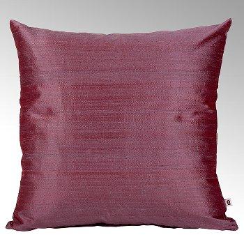 Seine cushion cover 100% silk mauve, 40x40cm
