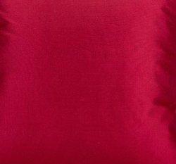 Seine cushion cover 100% silk cherry red, 40x40cm