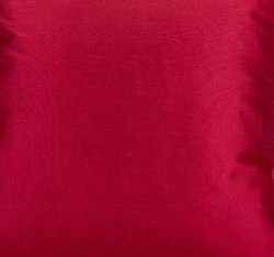 Seine cushion cover 100% silk cherry red, 50x50cm
